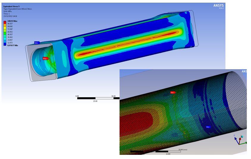 Deep Sea Measuring Device FEA 001