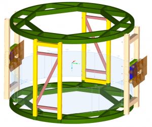 Satellite Turnnover Assembly Load